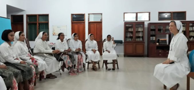 Thank You Sr Assunta for your motherly presence